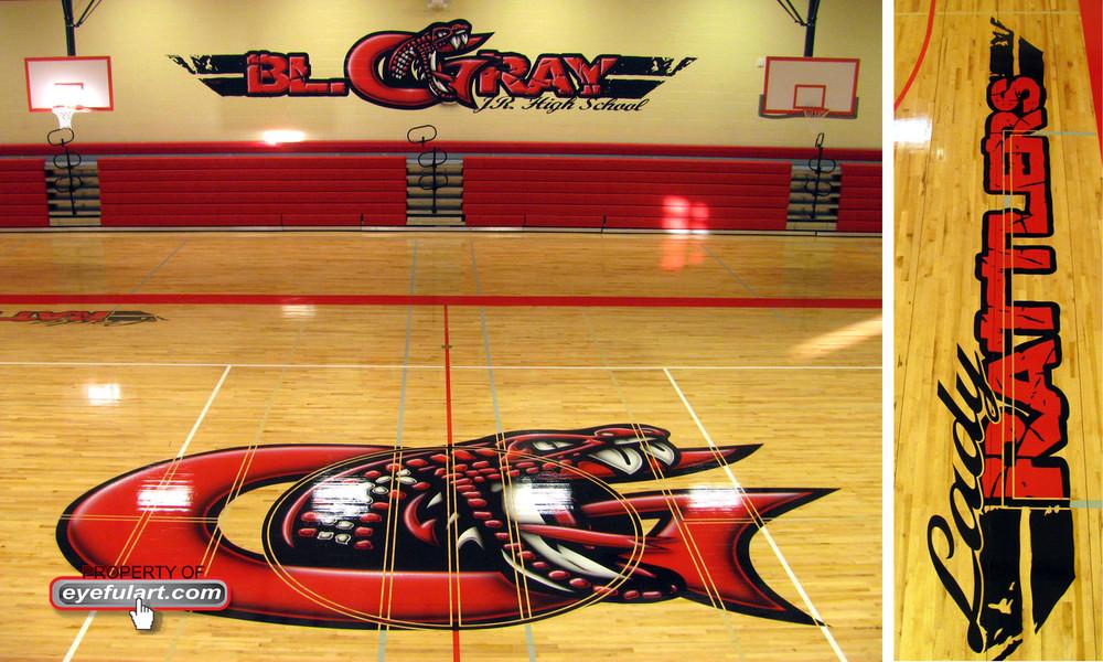 Basketball Gym Floor Designs American Hwy