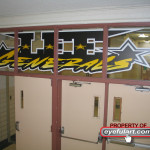 Lee HS Houston gym Eyeful Art 2006