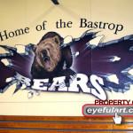 Bastrop HS gym 2007 Eyeful Art