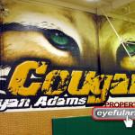 Bryan Adams gym Dallas ISD Eyeful Art mural 2006
