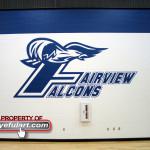 Fairview JHS Alvin TX Eyeful Art logo Wall