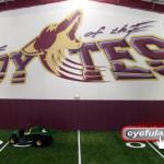 Heritage Hs Indoor Football field Frisco ISD 2009
