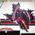 Porter Hs main gym Eyeful Art 2010