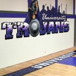 University HS Waco ISD 2010  gym Eyeful Art