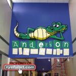 Anderson Elementary Eyeful Art