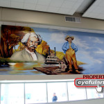 Mark Twain Elementary Alvin TX Eyeful Art