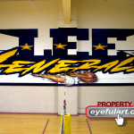 Lee HS Houston gym Eyeful Art 2006